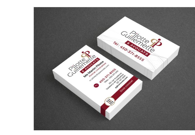 Pilotte, Guillemette & Avocats - Business card