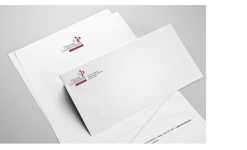 Pilotte, Guillemette & Avocats -Letter & letterhead