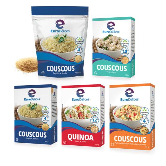 Eurodélices-Emballages Couscous