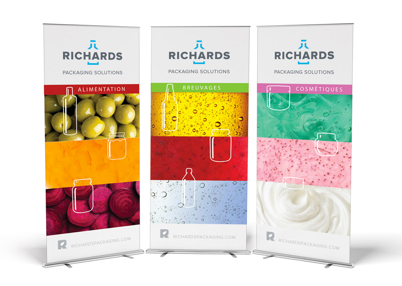 Richards packaging Solutions-Bannieres roll up