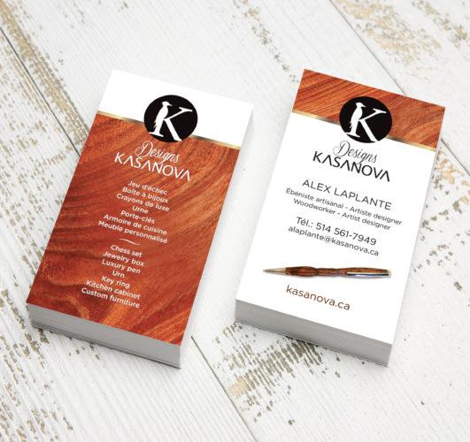 "Kasanova-Cartes d""affaires"
