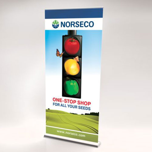 Norseco-Bannière roll-up