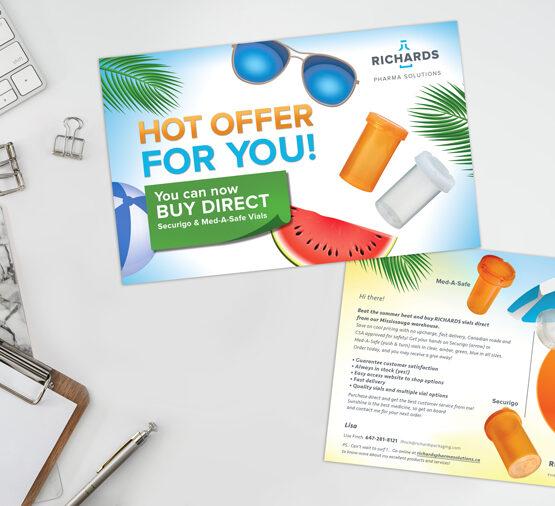 Richards Pharma Solutions-Carte-postale