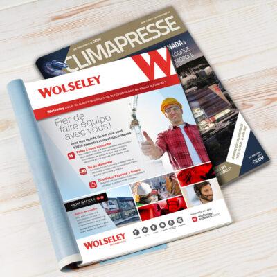 Wolseley-Publicité magazine Climapresse