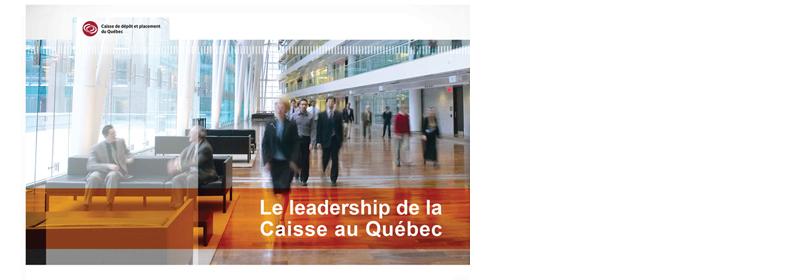 Caisse de Depot et placement du Quebec-Power Point document