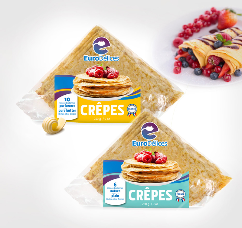 Eurodelices-package design for crepes