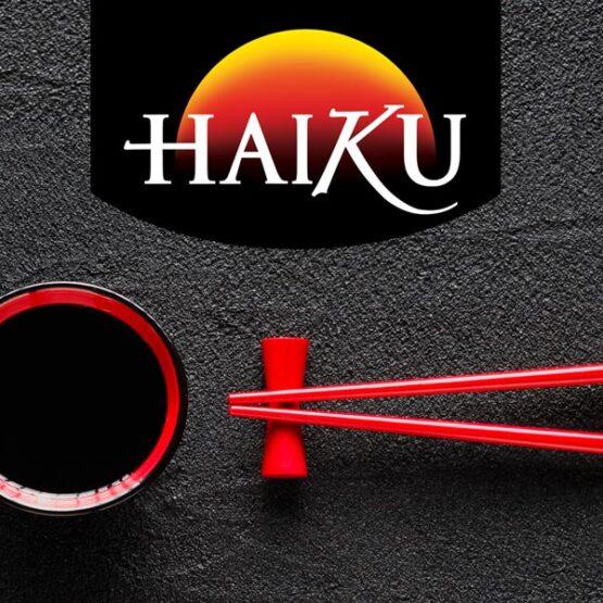 Haiku-Portfolio header