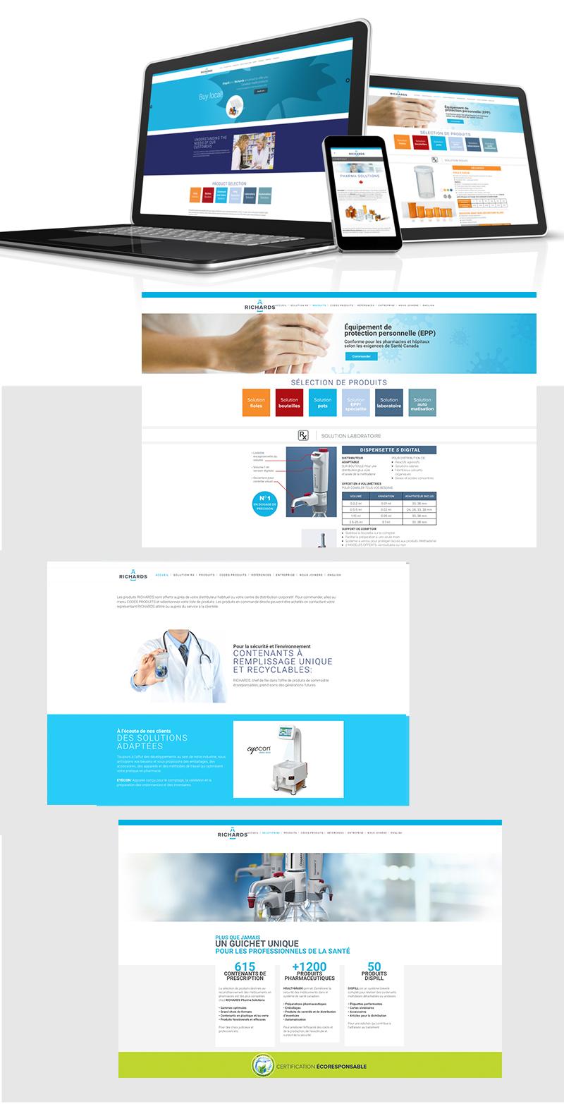 Richard Pharma Solutions-Website